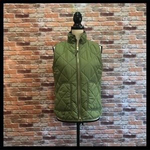 J. Crew Mercantile Quilted Puffer Vest